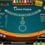 caribbean hold em poker table