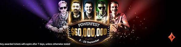 PartyPoker Powerfest Online Poker Tournament
