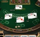 pontoon casino table game