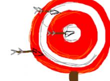 Poker Target Practice